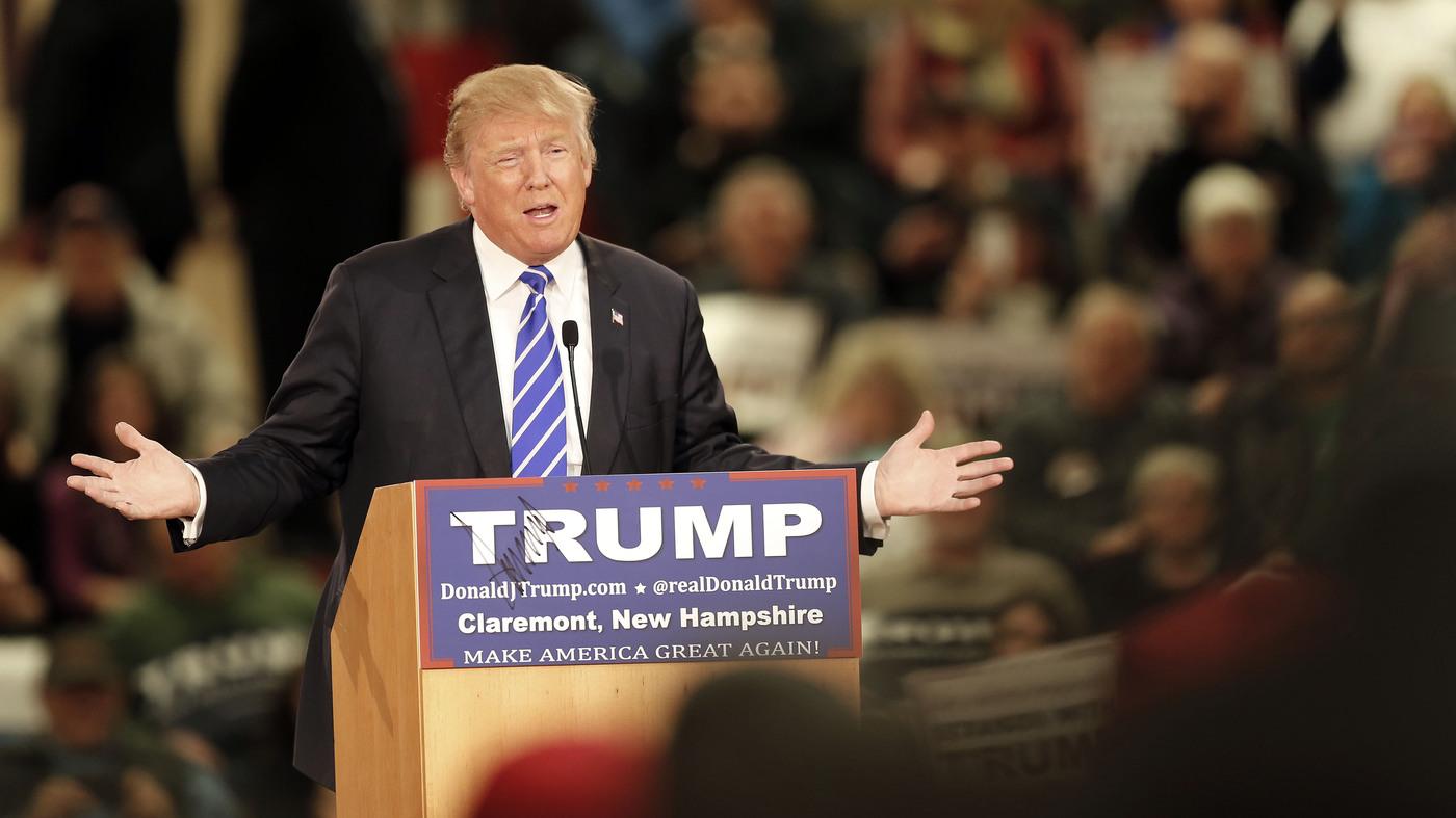 Donald Trump Goes Birther On Ted Cruz Npr