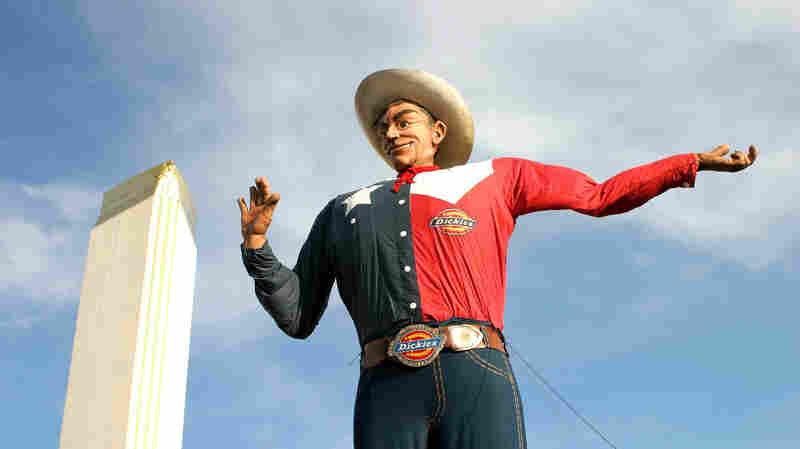 Big Tex at the State Fair of Texas in Dallas.