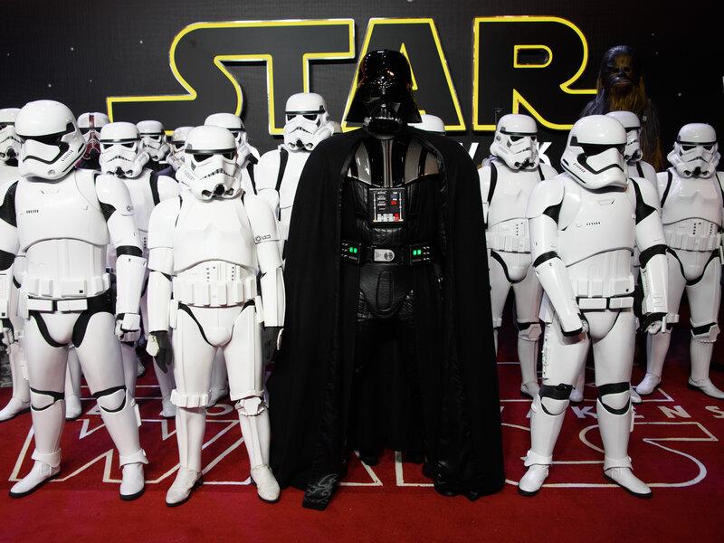 Star Wars Galactic Galaxy Heroes Figure Darth Vader Arm Raised