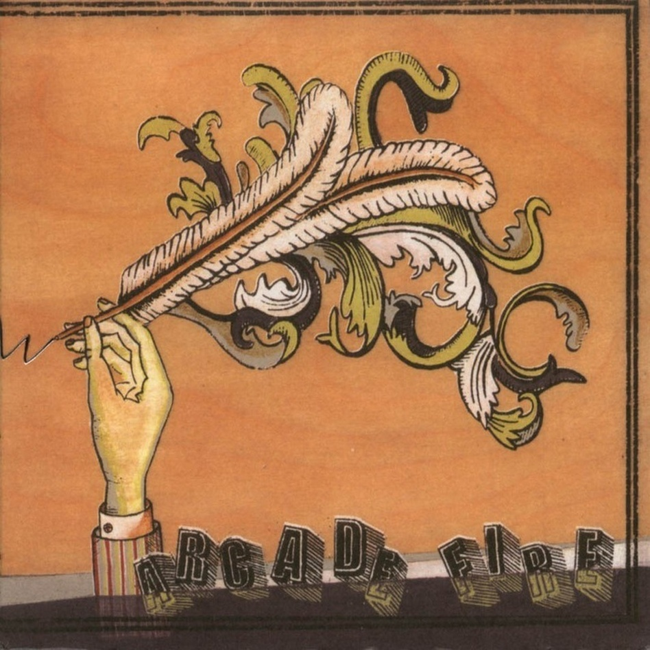 Cover art for Arcade Fire's Funeral.