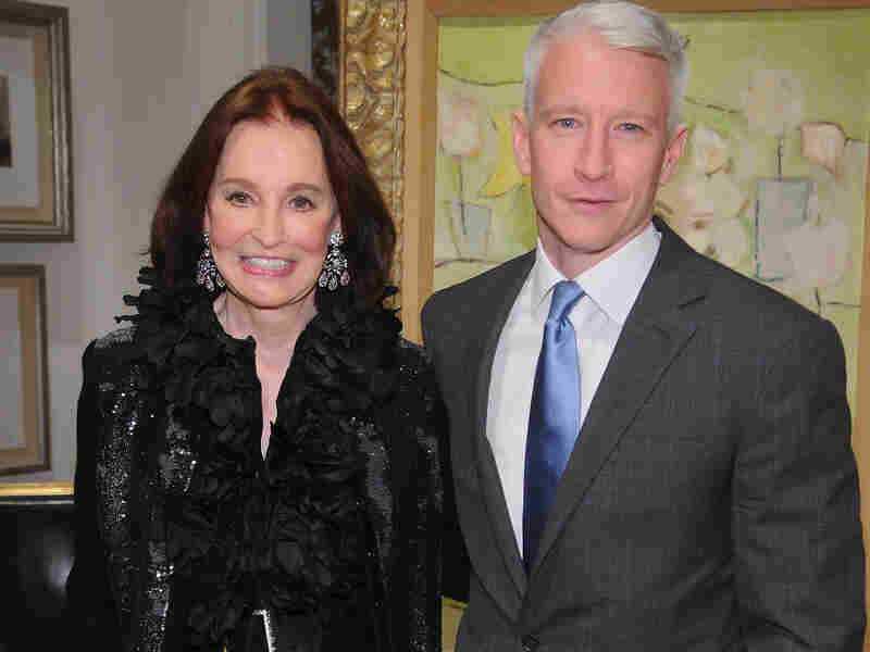 CNN anchor Anderson Cooper announces the death of his mother Gloria Vanderbilt