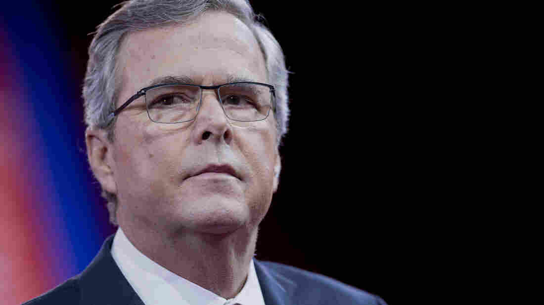 Former Florida Gov. Jeb Bush's superPAC is a juggernaut, raising well over $100 million. But he has sputtered in the GOP primary.