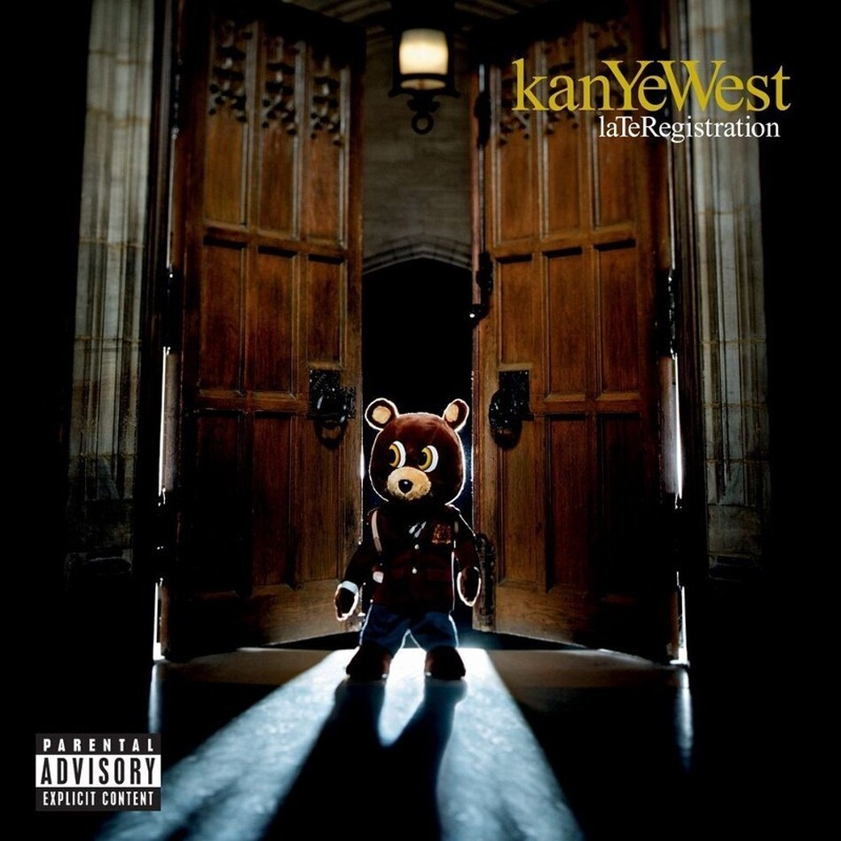 Cover art for Kanye West's Late Registration