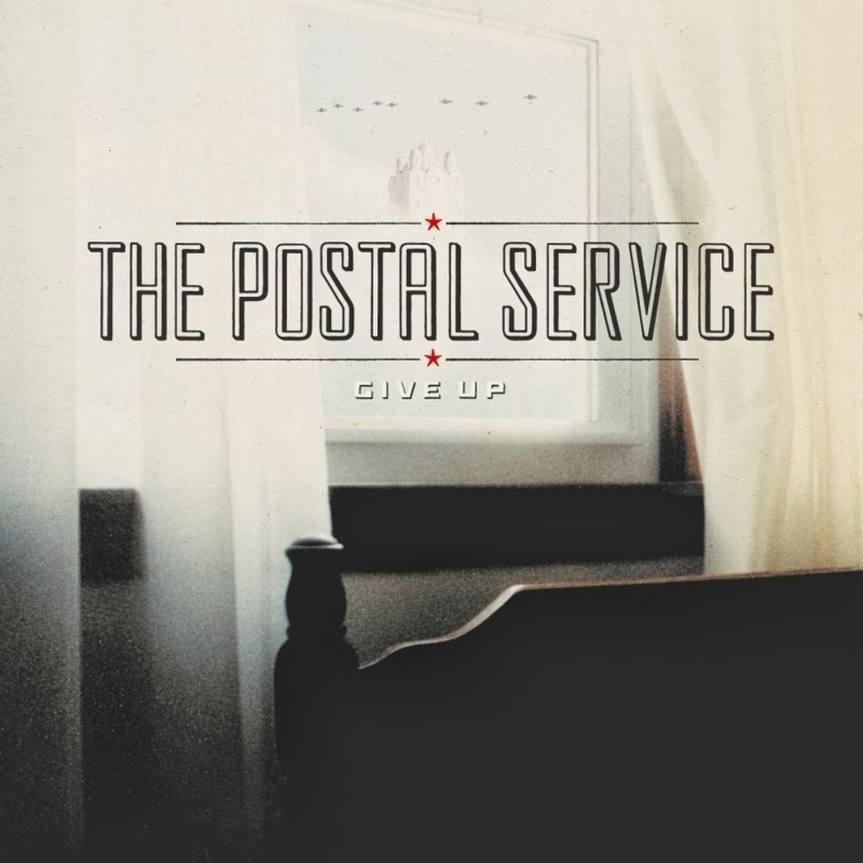 Cover art for The Postal Service's Give Up.