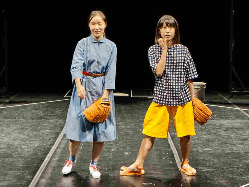 Sung Hee Wi and Aoi Nozu perform in Japan's God Bless Baseball, which explores the sport's popularity in the country.