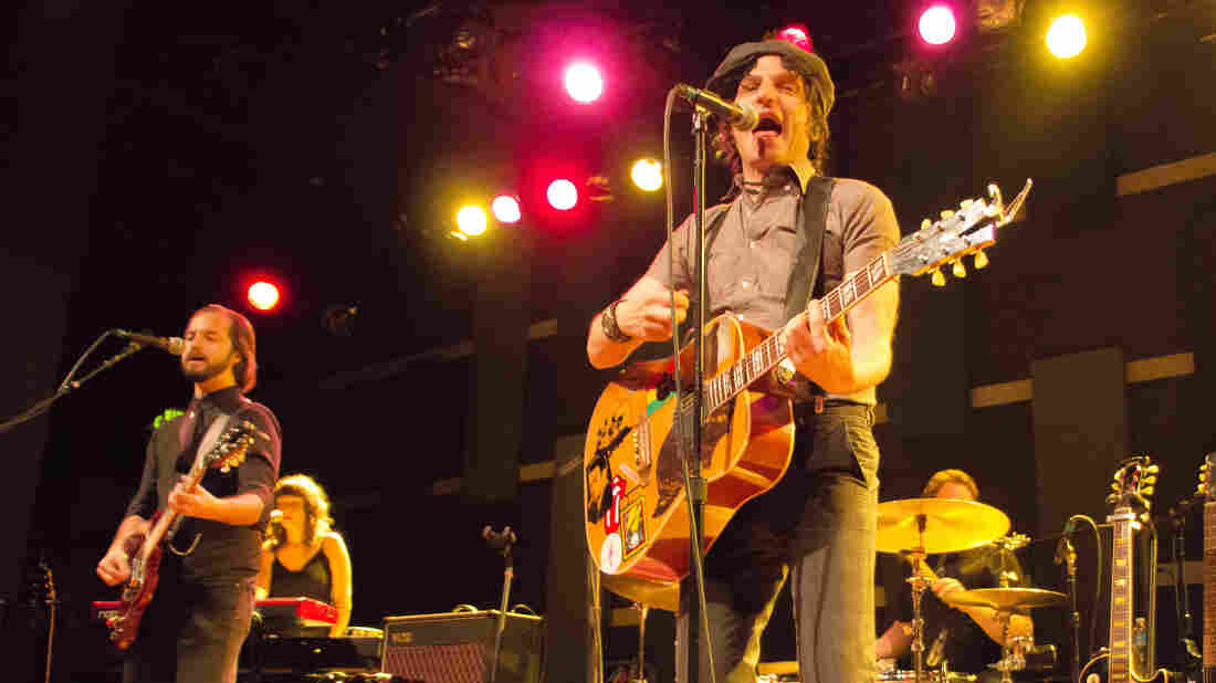 Jesse Malin performs live for World Cafe.