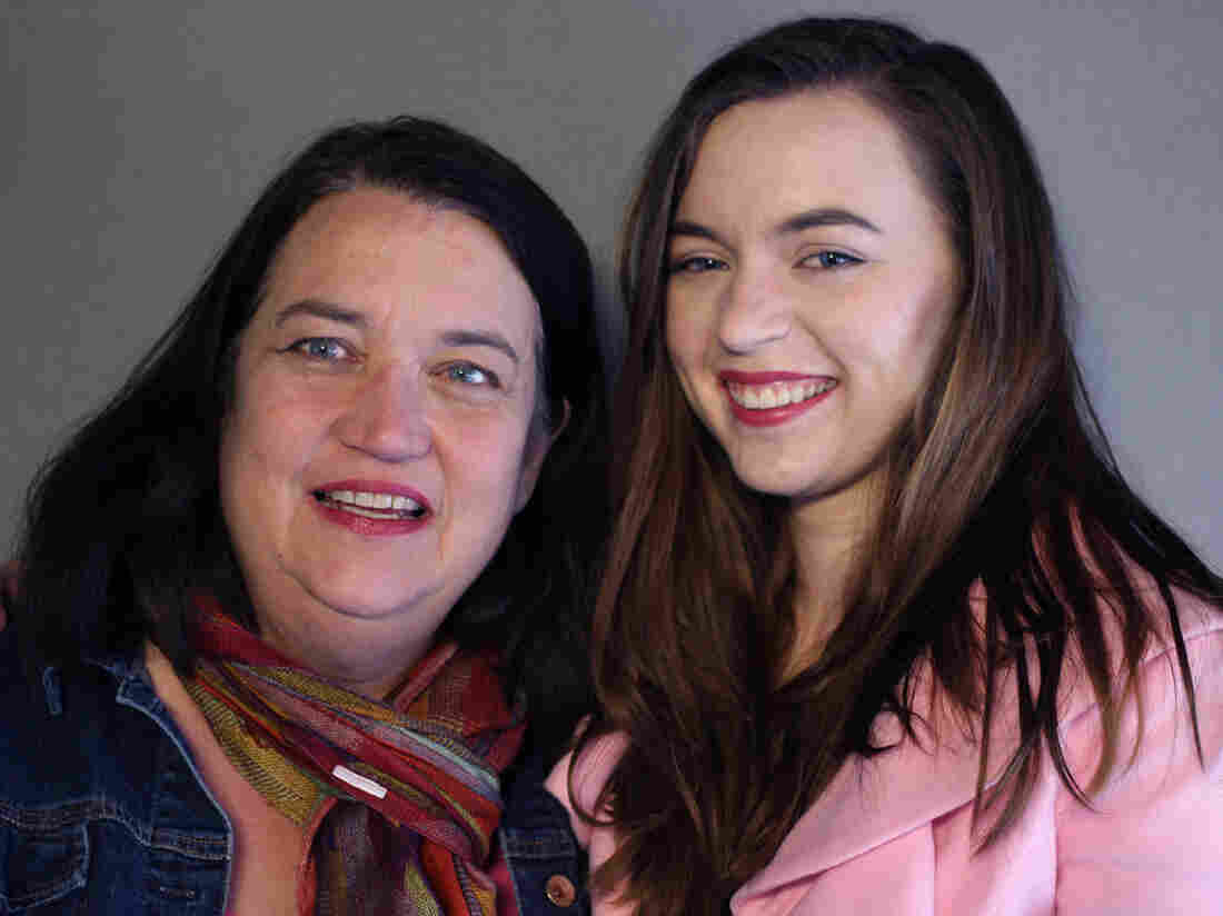 Mary Reed, with her daughter, Emma McMahon, on a recent visit with StoryCorps.