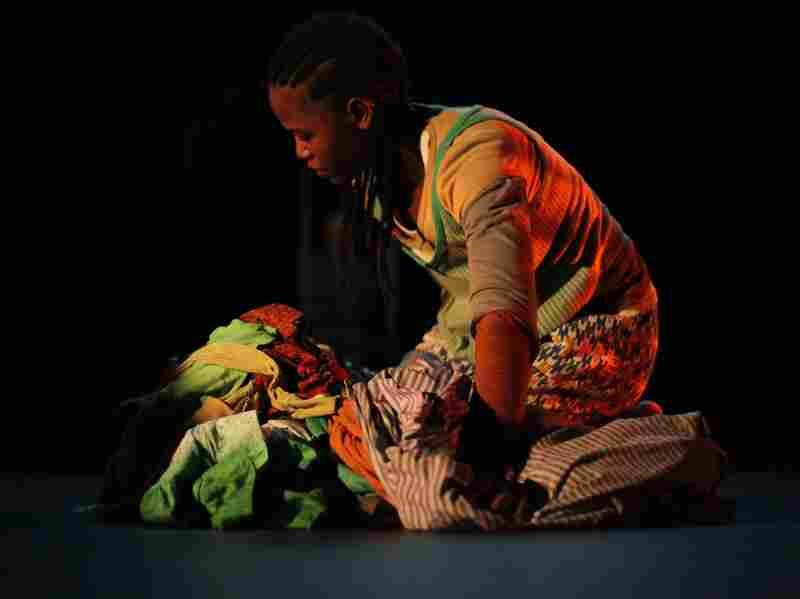 Dorothée Munyaneza plays her 12-year-old self in Samedi Détente.