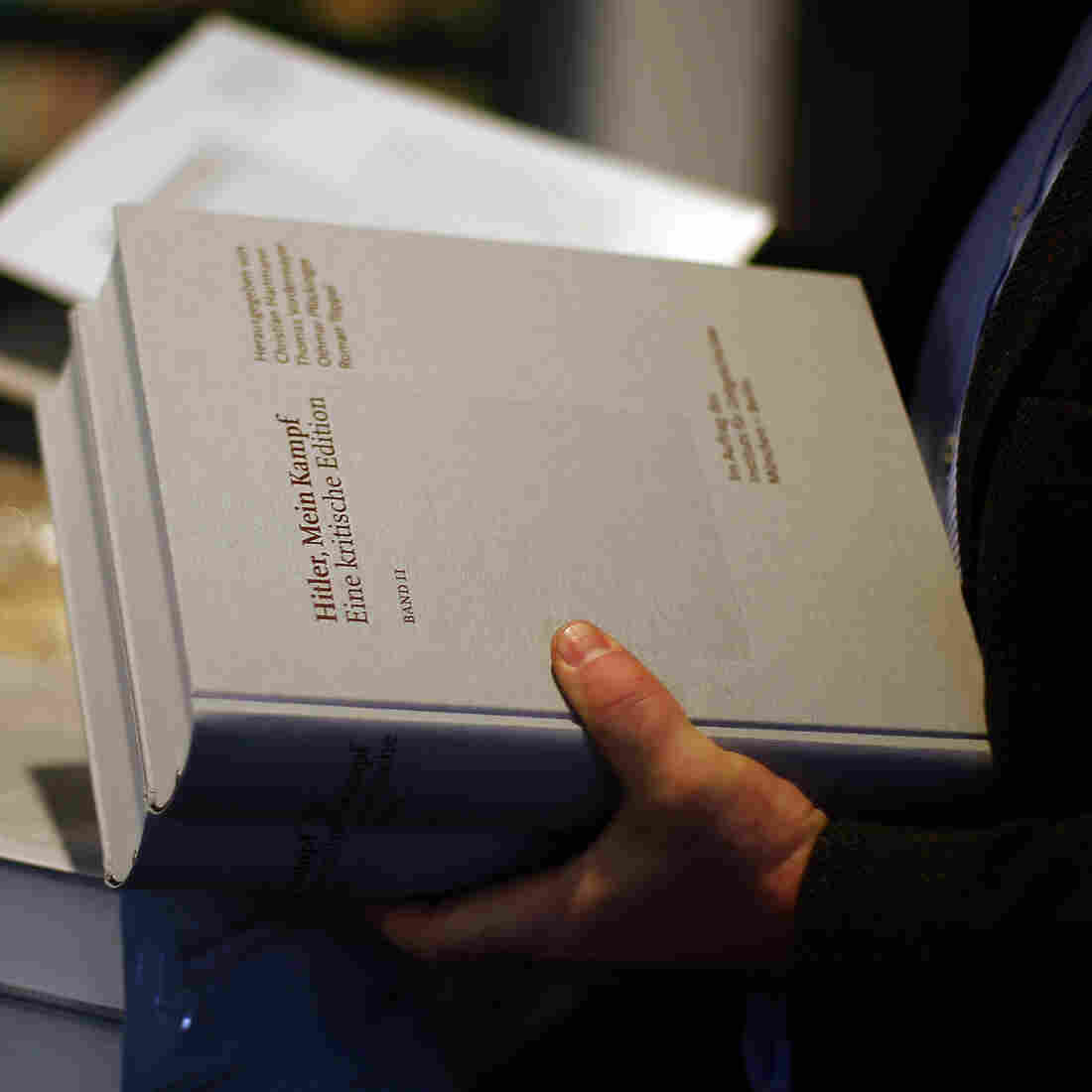 Hitler's 'Mein Kampf' Is Back In German Bookstores After 70 Years