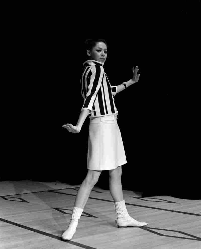 A Courrèges outfit from 1966.