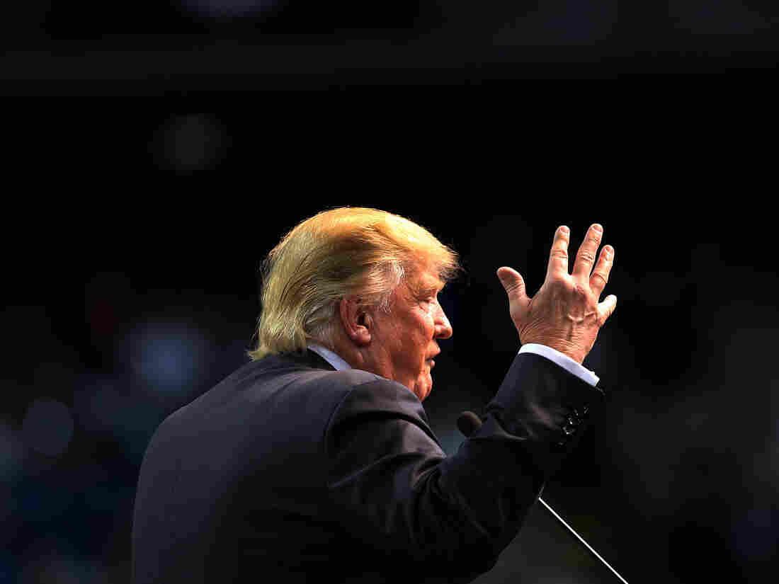 Donald Trump speaks at the Mississippi Coast Coliseum in Biloxi, Miss., on Jan. 2.