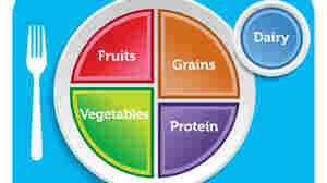 The MyPlate icon is the visual centerpiece of the USDA's advice for healthy eating aimed at the general public. Scientists and other public health advocates had called for adding a water symbol to the icon, but that didn't happen.