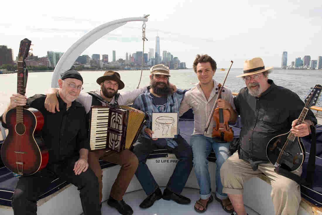 The Brothers Nazaroff is five klezmer musicians from three continents, brought together by a love of the curious 1954 recording Jewish Freilach Songs.