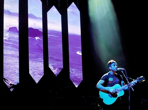 In Bob Boilen's favorite concert of 2015, Sufjan Stevens turned Washington, D.C.'s Constitution Hall into a place of self-discovery and magic.