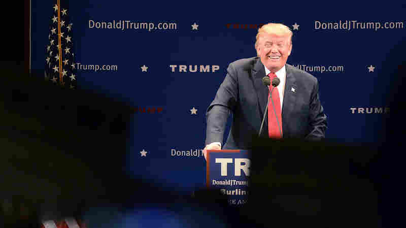 Trump In Vermont: 'I Would Love To Run Against Bernie'