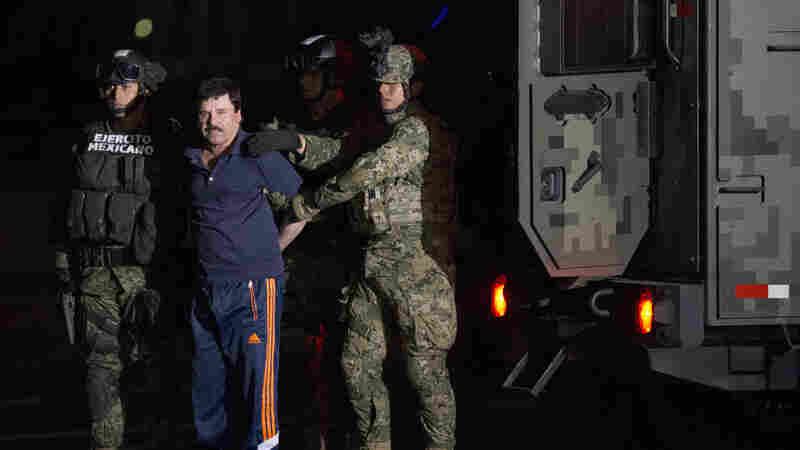 'El Chapo' Back In Prison He Escaped From — Thanks, In Part, To Lure Of Hollywood