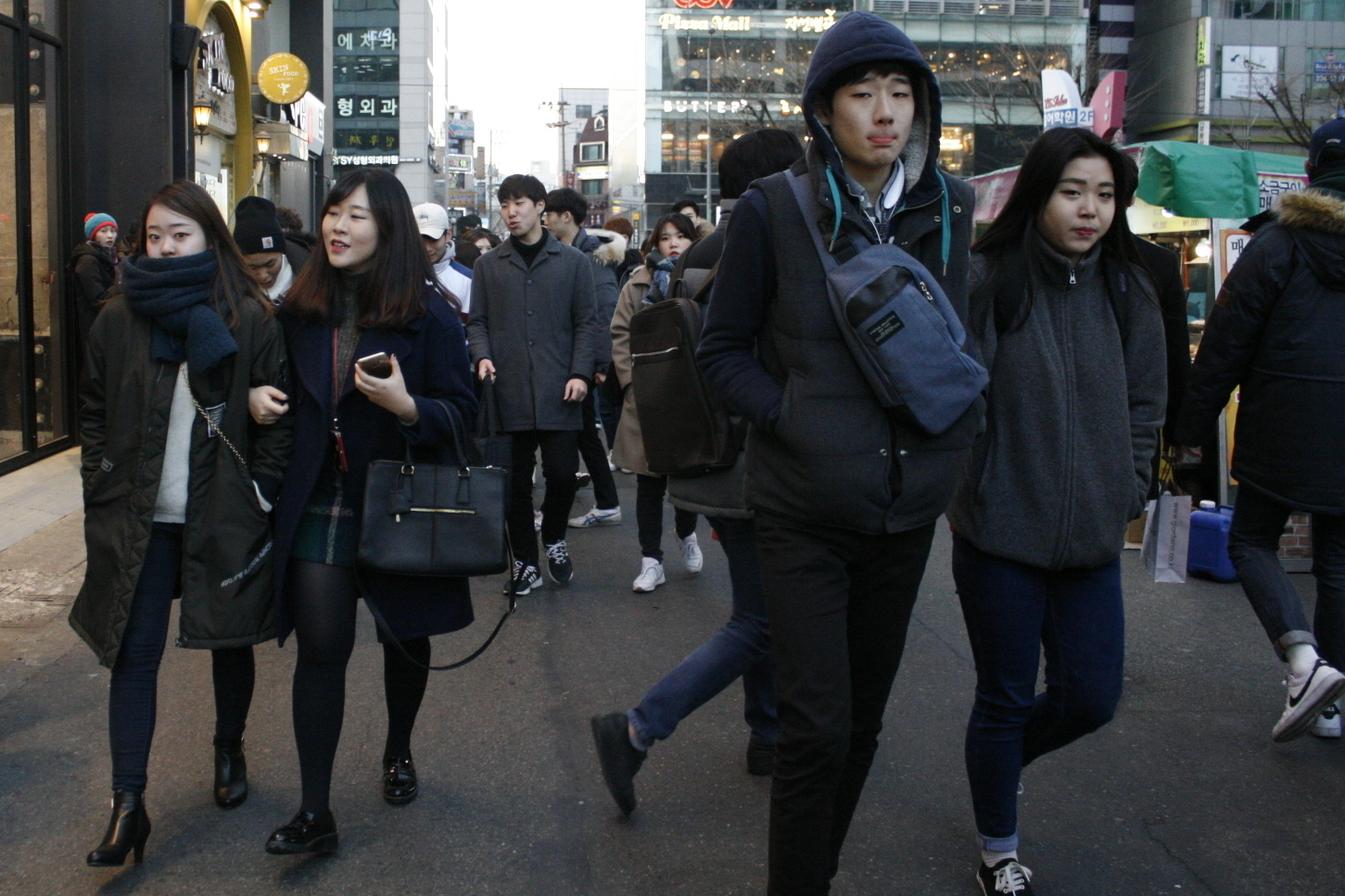 For Young South Koreans, The North's Nuclear Test Is Barely A Blip