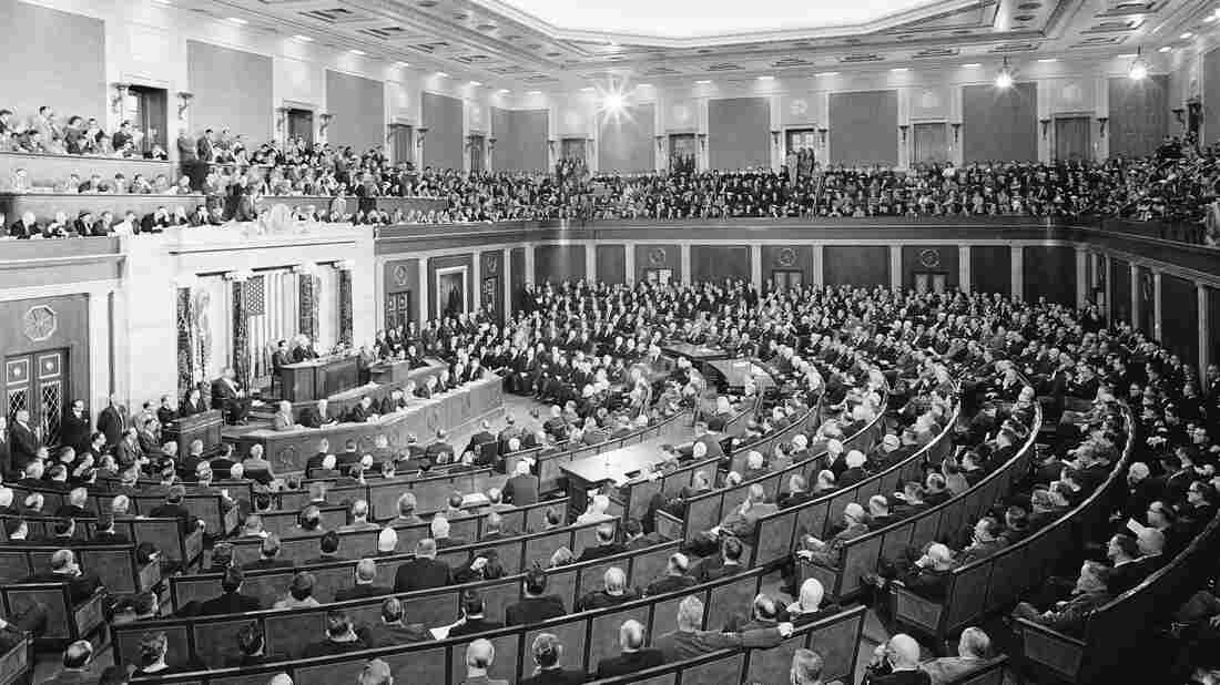 President Dwight Eisenhower delivered his final State of the Union speech to a packed House in January 1960.