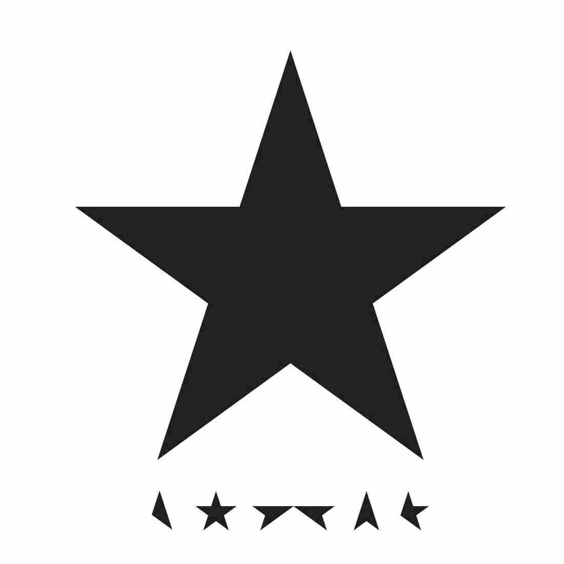The cover of David Bowie's album Blackstar.