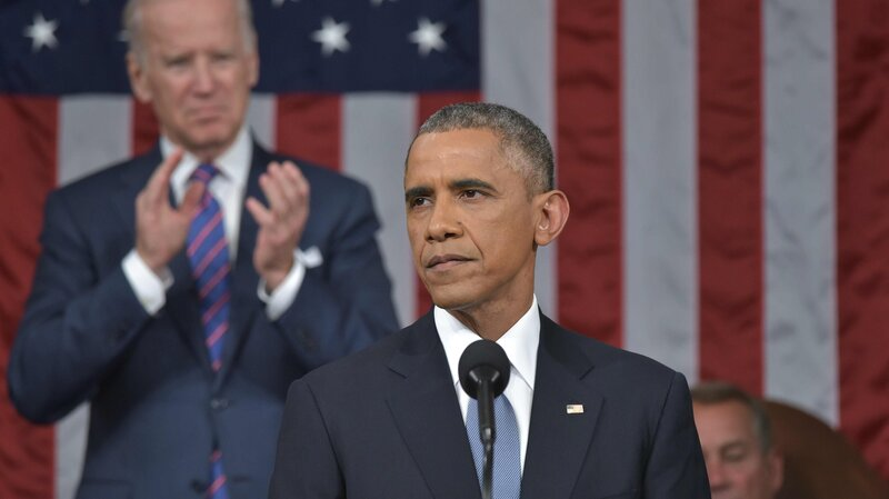 President Obama delivers the 2015 State of the Union address. Only about 40 percent of State of the Union requests get through Congress. For Obama, it's been even lower. (Mandel Ngan/Pool/Getty Images)