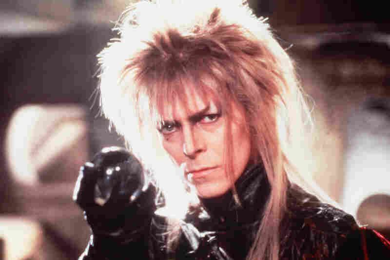 Bowie starred as Jareth the Goblin King in Jim Hensen's 1986 film, Labyrinth.