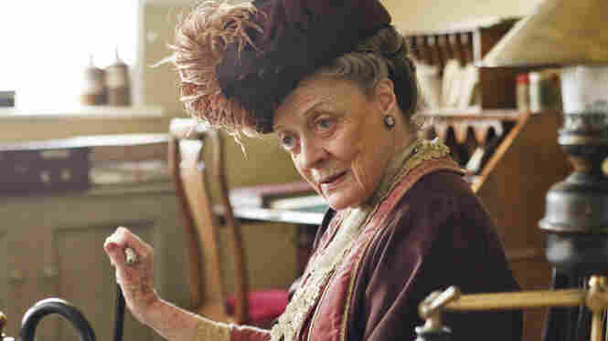 "Dame Maggie Smith plays Violet Crawley, Dowager Countess of Grantham, in Downton Abbey, now entering its sixth and final season. Smith says that the enduring popularity of the period drama ""took everybody by surprise."""