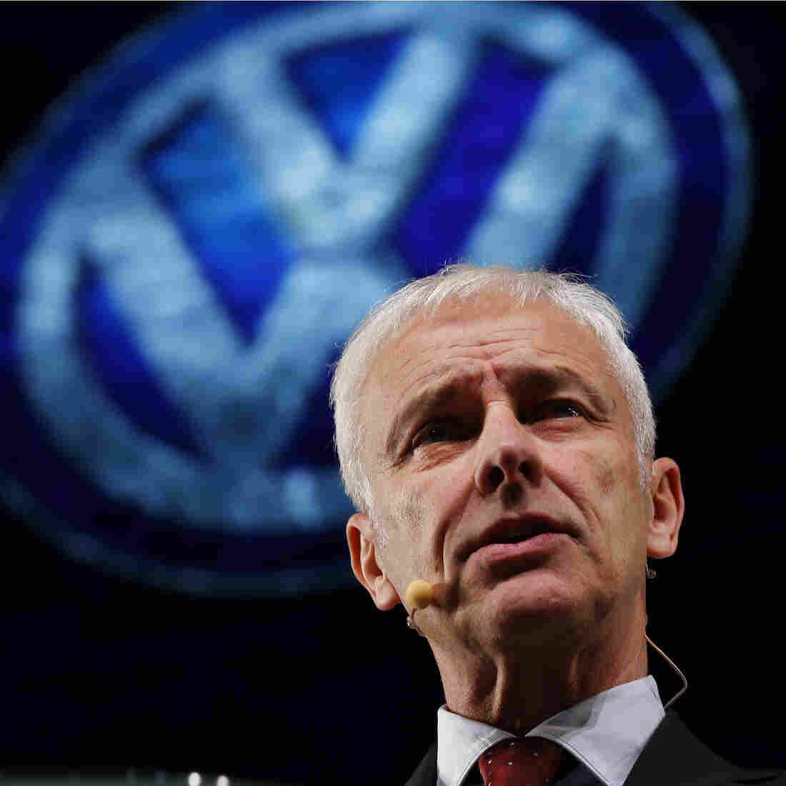 'We Didn't Lie,' Volkswagen CEO Says Of Emissions Scandal