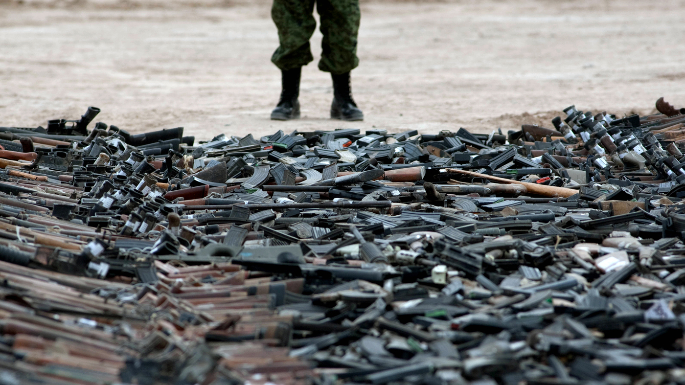 Car Talk Podcast >> In Mexico, Tens Of Thousands Of Illegal Guns Come From The U.S. : The Two-Way : NPR