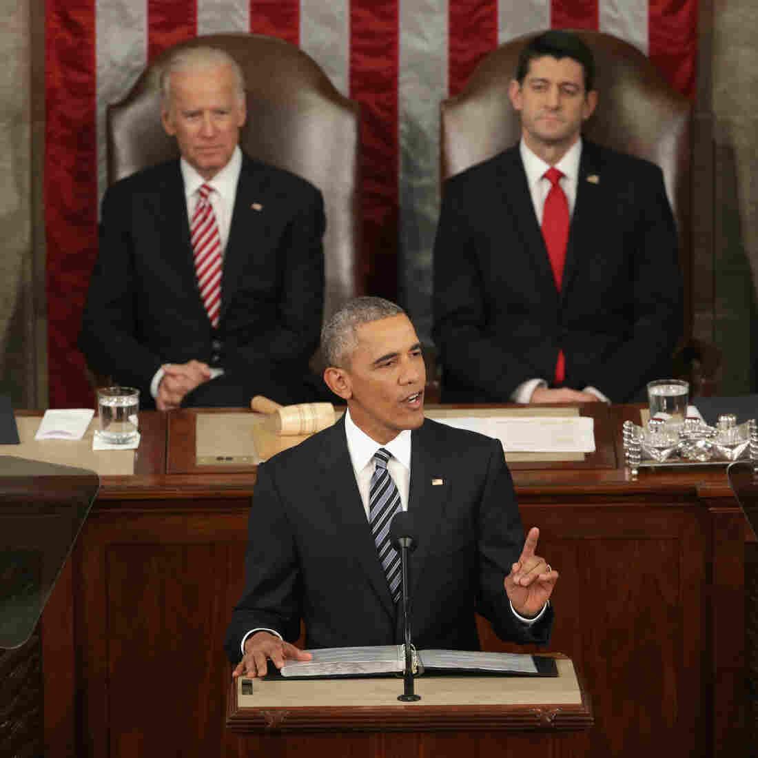 Transcript: President Obama's Final State Of The Union Address