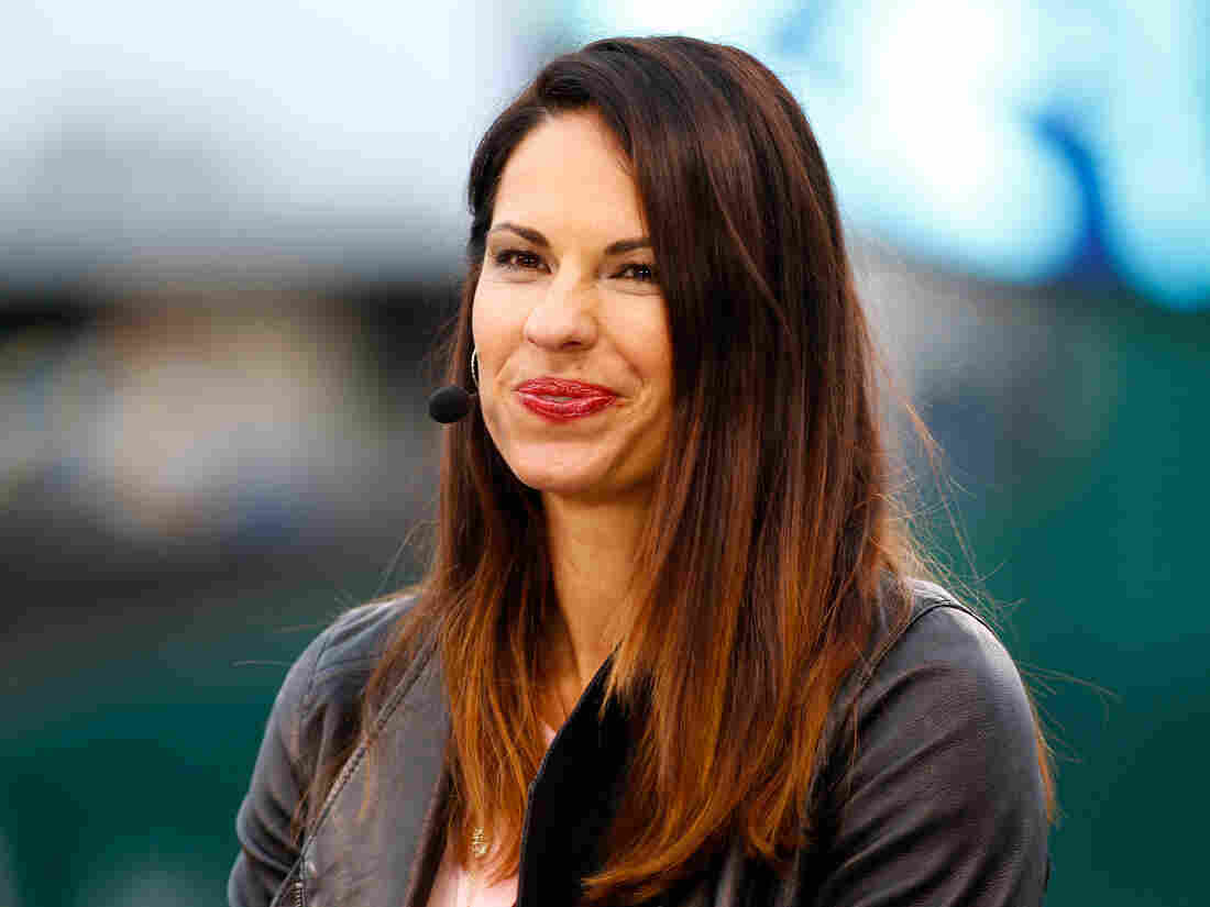 Analyst and former Olympic softball player Jessica Mendoza will be a full-time fixture in the broadcast booth during ESPN's Sunday Night Baseball this season.