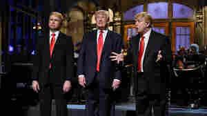 Taran Killam (and the Donalds Trump)