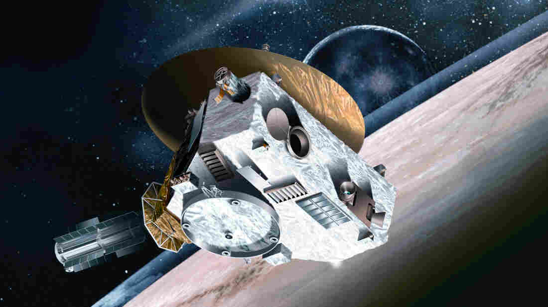 Sending a probe to Pluto — based on the cost of the New Horizons probe — would be out of your budget.