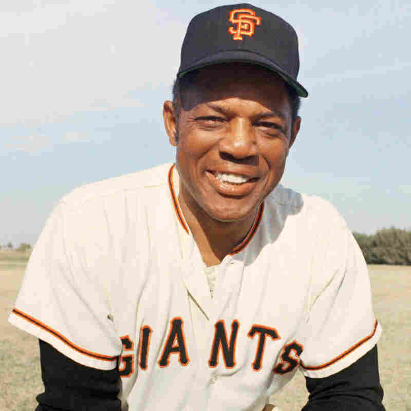 Willie Mays pictured in 1967.