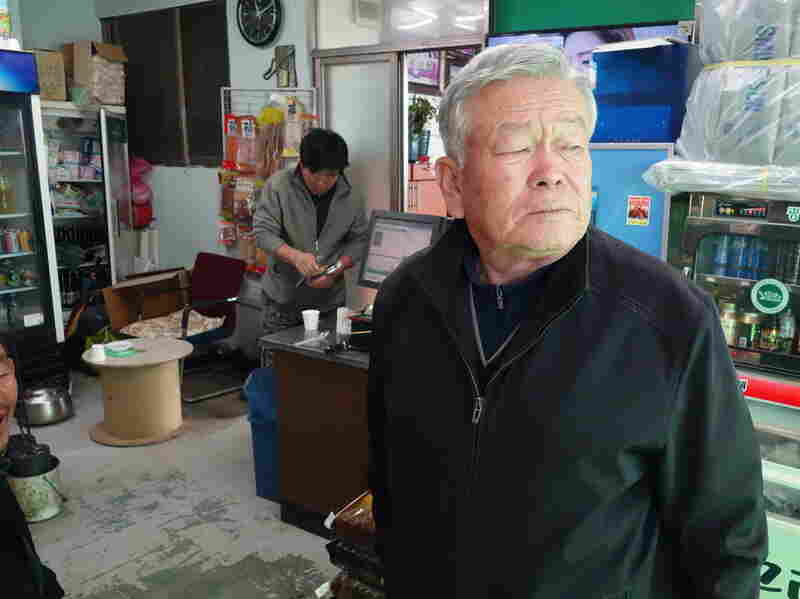 Nam Tae-woo, 83, is a South Korean villager in Paju, inside the demilitarized zone. He says he has been hearing the South Korean loudspeaker broadcasts late at night.