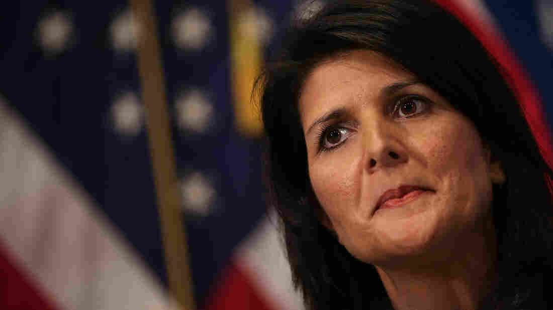 South Carolina Gov. Nikki Haley gave the Republican response following President Obama's final State of the Union speech on Tuesday night.