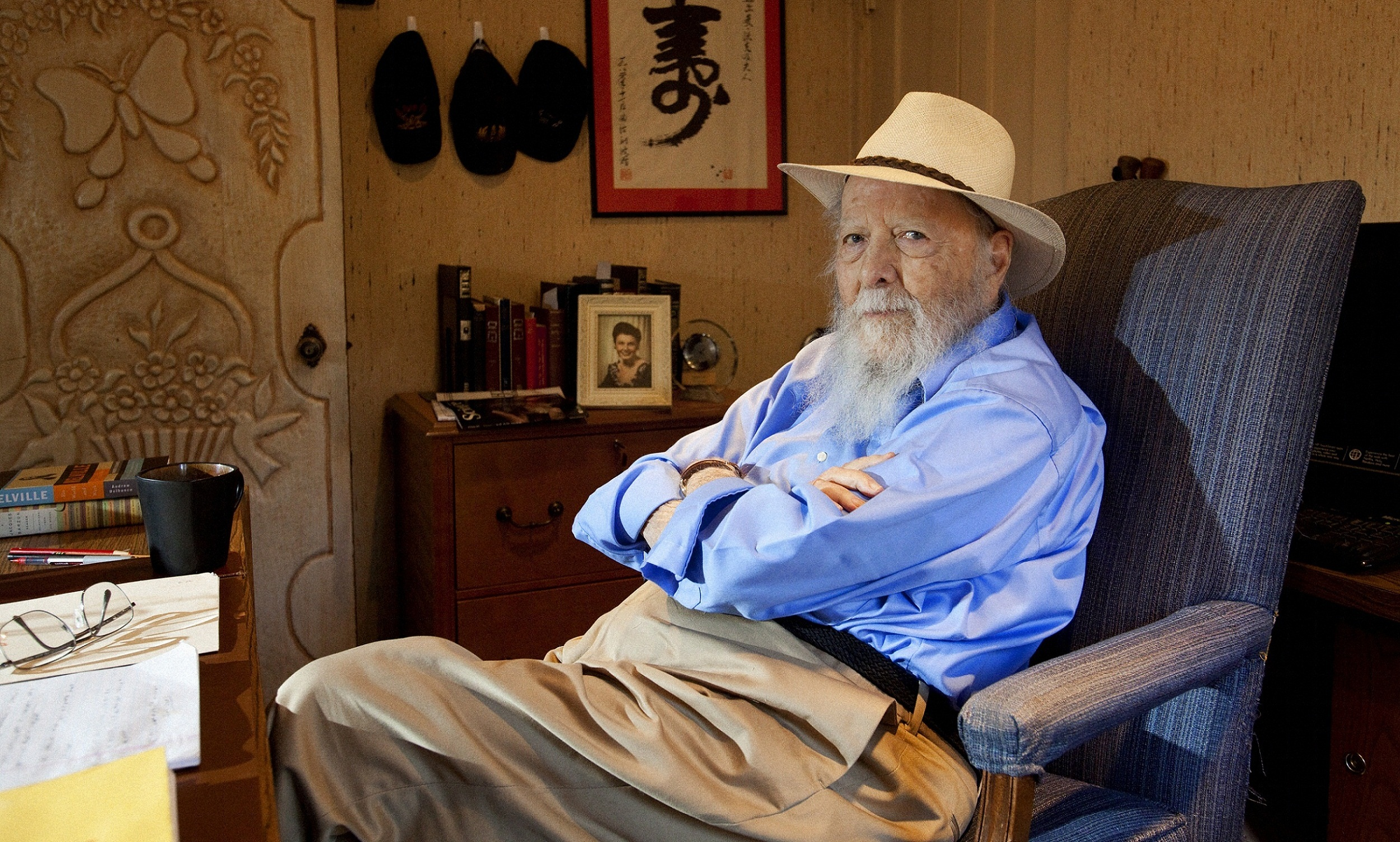 Herman Wouk Says He's A 'Happy Gent' At 100