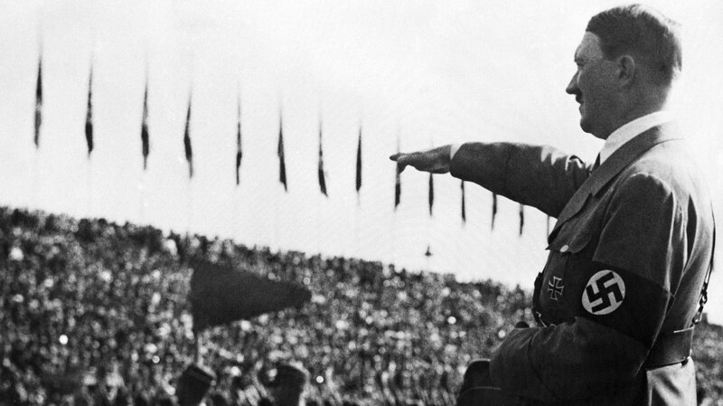 Image result for hitler in front of cheering crowd