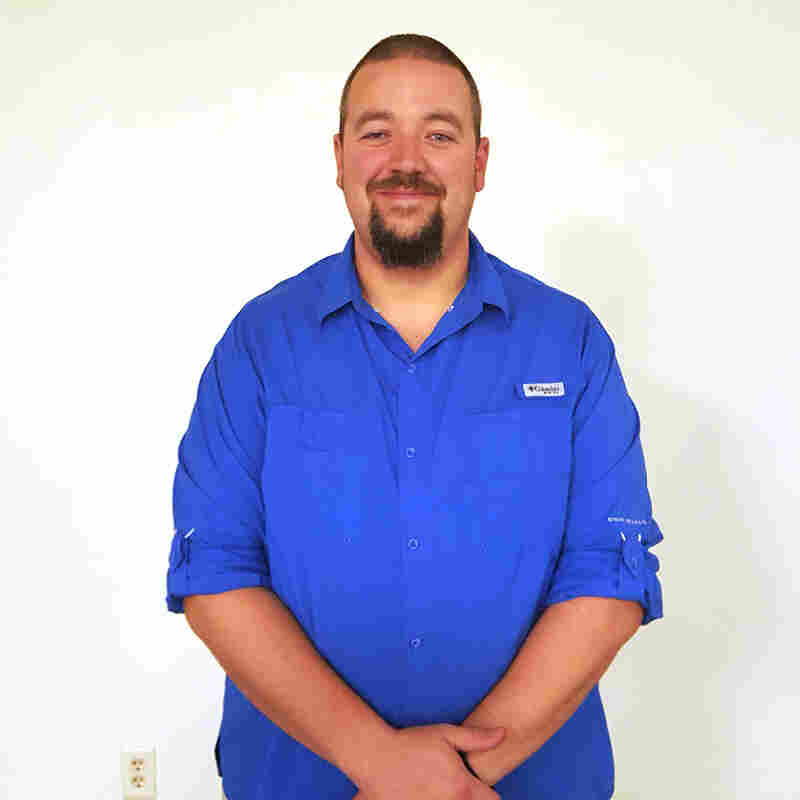 Ben Carnes on Jan. 14, 2016, after losing 100 pounds with the help of the HealthyWage program.