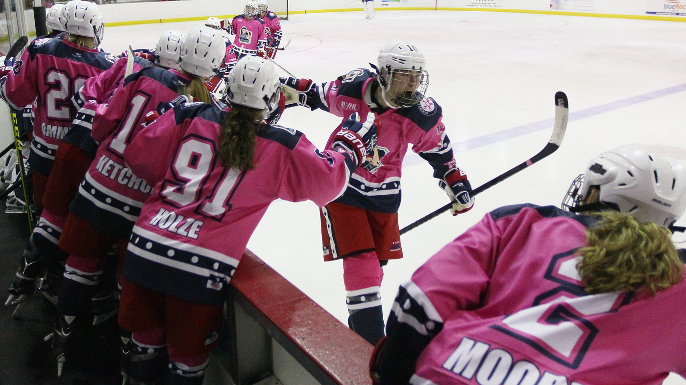 d1643f2c37e Women s Hockey Takes Stage As New Pro Sports League   NPR
