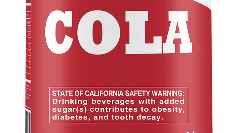 warning labels might help parents buy fewer sugary drinks study