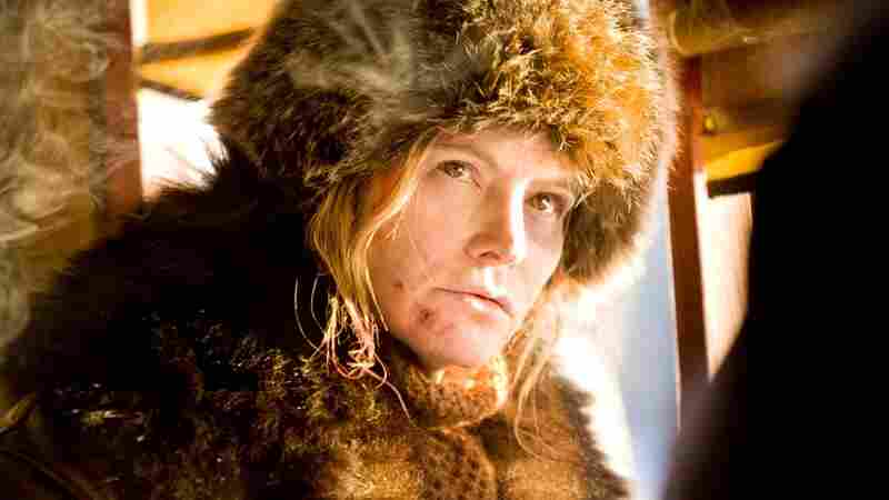 Jennifer Jason Leigh in The Hateful Eight.