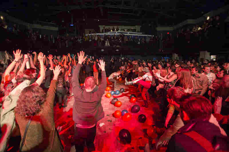 The crowd at the 9:30 Club danced itself into a frenzy, ending a memorable, joy-filled night.