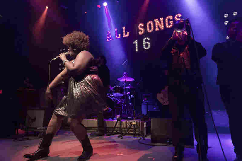 All Songs Considered has always been about making new music discoveries. Host Bob Boilen told the crowd he expected The Suffers to be big in 2016.