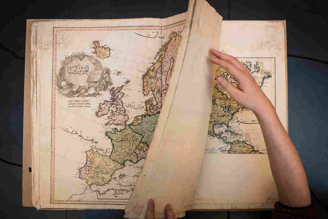 """Browsing Reddit weeks after he stumbled across a beautiful atlas in the vault, Anders Kvernberg discovered it was just the 15th surviving copy in the world. """"It was a beautiful moment,"""" he says."""