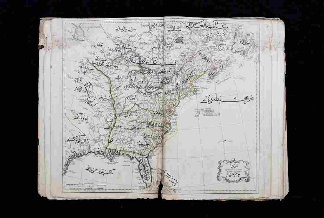The Cedid atlas was published in Istanbul in 1803.