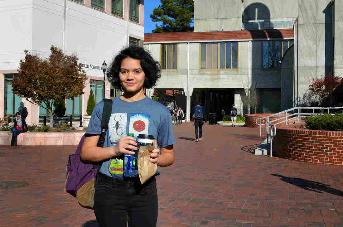 Sophomore Kaya Ruffin said some students post mean comments targeted at women and students of color at Emory.