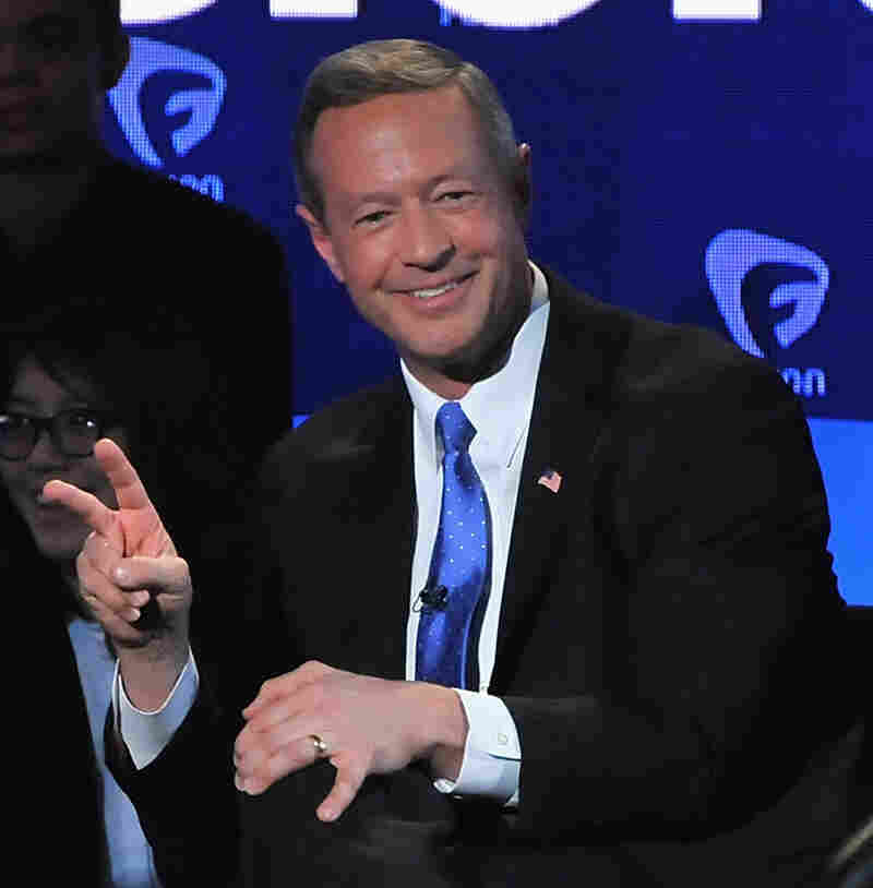Former Gov. Martin O'Malley, D-Md., has had a hard time breaking through in this presidential campaign.
