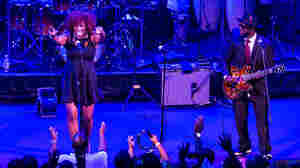 "Singer Michelle Blackwell is helping lead the effort to enfranchise teenagers in the nation's capital. She and guitarist Frank ""Scooby"" Marshall of the The Chuck Brown All-Star Go-Go Band play a concert at Washington, D.C.'s Howard Theatre."
