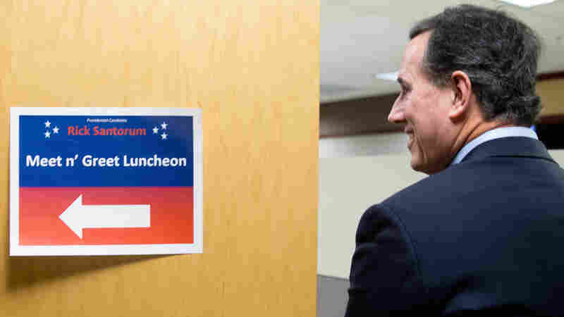 Santorum Struggles To Regain 2012 Momentum