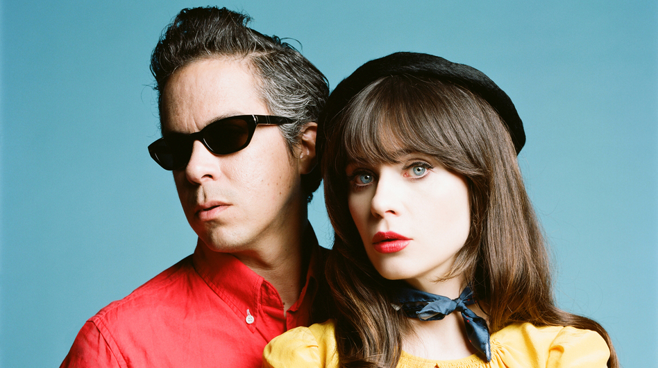 She & Him. (Courtesy of the artist)